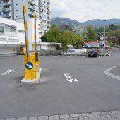 Neue Parkplätze beim Eurospar