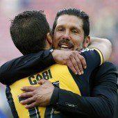 Atlético bejubelt den Meistertitel
