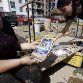 Flutopfer: Auch Gemeinden spenden für den Balkan