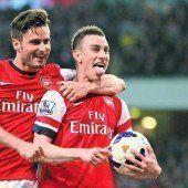Arsenal könnte zum Rekordsieger werden