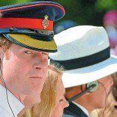 Prinz Harry bei Gedenkfeier in Italien