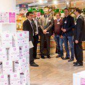 Kaufleute besuchen Sutterlüty-Märkte