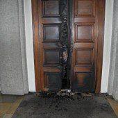 Brandanschlag auf Mariahilfkirche