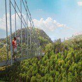Tiroler planen längste Hängebrücke der Welt
