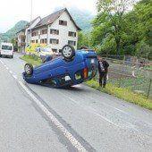 63-Jähriger überschlug sich mit Auto
