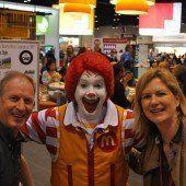Loek Versluis trifft Ronald McDonald