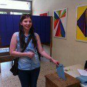 Die Jugend an der Wahlurne