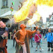 Feldkirch steht wieder ganz im Zeichen des Montfort-Spektakels