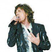Mick Jagger ist zurück auf der großen Bühne