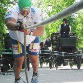 Extremsportler zog zwölf Fiaker