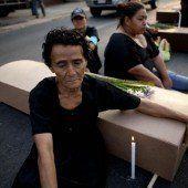 Eine Welle der Gewalt erschüttert Honduras