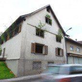 Gewächshaus im Rankweiler Zentrum