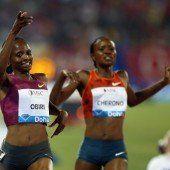 Obiri und Kiprop glänzten beim Start in Doha