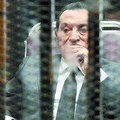 Drei Jahre Haft für Ex-Präsident Hosni Mubarak