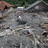 Milliardenschaden in Serbien und Bosnien
