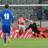 Nur ein 1:1 gegen Island
