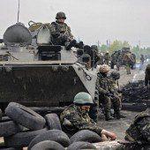 Ukraine: Mit Panzern gegen die Separatisten
