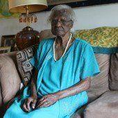 Amerikanerin feierte ihren 115. Geburtstag