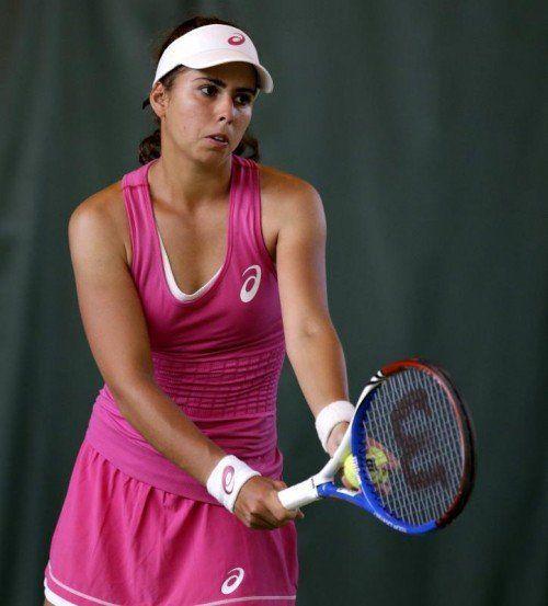Erstmals im Fed Cup dabei ist Julia Grabher. Foto: gepa