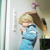 Wirksamer Schutz für Kinder vor Stromunfall