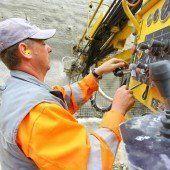 Erdbewegungen für die Wasserkraft