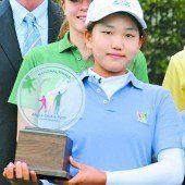 Eine Elfjährige spielt bei den Golf-US-Open