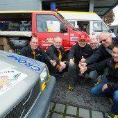 Orient-Rallye am Start