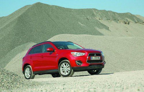 Mitsubishi ASX: Der 2,2-l-Diesel hat optional sechs Automatik-Gänge.
