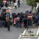 Gewalt schockt Italien