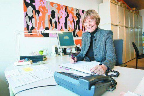 Monika Lindermayr hat über die Fernuni Erziehungswissenschaften und soziale Verhaltenswissenschaften studiert.  Foto: vn/steurer