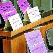 Oppositionsvertreter schäumen