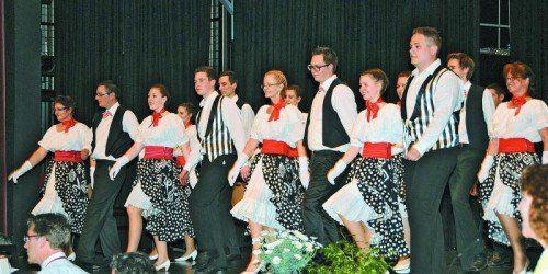 Niveauvolle Gesangskultur mit dem Trachtenchor Lustenau.