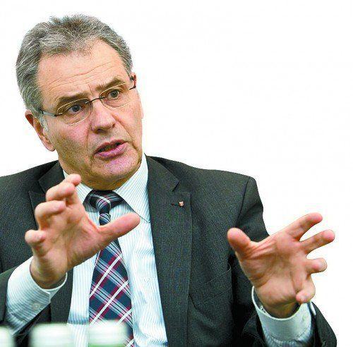 ÖVP-Bundesrat Edgar Mayer aus Feldkirch widerspricht der EU-Kommission.  Foto: VN/Steurer
