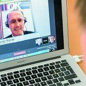 VN- und VOL.AT-Google Hangout. Othmar Karas, ÖVP (56) und Harald Vilimsky, FPÖ (47)