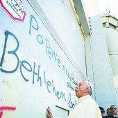 Papst Franziskus bringt Israelis und Palästinenser zusammen