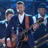 Justin Timberlake räumte bei den Billboard Awards in Las Vegas ab