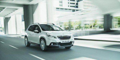 Peugeot 2008: Der kompakte Franzosen-Crossover wurde auf drei Konti- nenten entwickelt. In Österreich rollte er im Vorjahr an den Start.