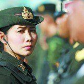 Präsenz von Soldaten in Thailand erhöht