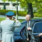 Putin im Juni in Frankreich