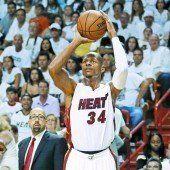 Miami Heat zeigte Indiana den Meister