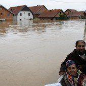 Dutzende Tote nach Balkan-Flut