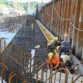 Kraftwerksbau in Endphase