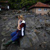 Landmine explodiert im Hochwassergebiet