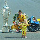 Hunter-Reay im Indy500 voran