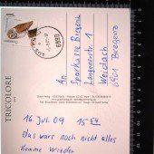 Es war Coup Nummer 10 des Postkartenräubers