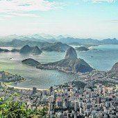 Eindrucksvolle Stadt: Rio de Janeiro
