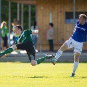 Der Dornbirner SV ist nach 2:3-Auswärtssieg in Brederis weiter auf Aufstiegskurs