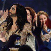 Conchita Wurst sorgt für Begeisterungsstürme