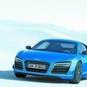 Audi R8 mit Laser-Fernlicht