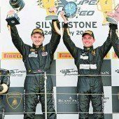 Klassensieg von Sandro Bickel in Silverstone